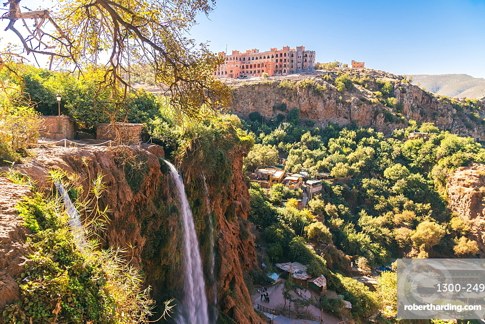 Ouzoud Waterfalls are located near the Moyen Atlas village of Tanaghmeilt, in the province of Azilal, Morocco, North Africa, Africa