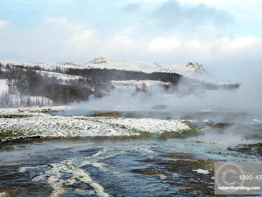 Geysir at the Golden Circle, Iceland, Polar Regions