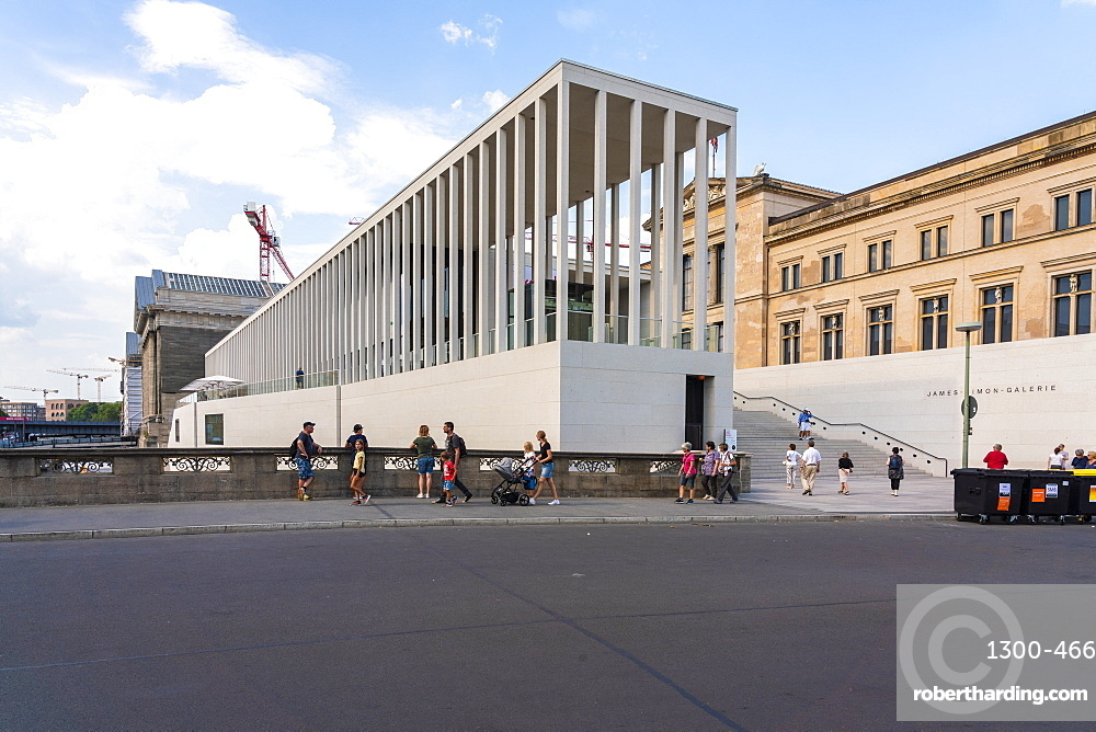 James Simon Gallery and Pergamon museum in the museumsinsel