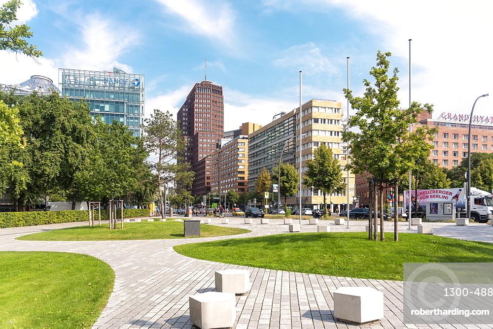 potsdamer platz square with Sony Center
