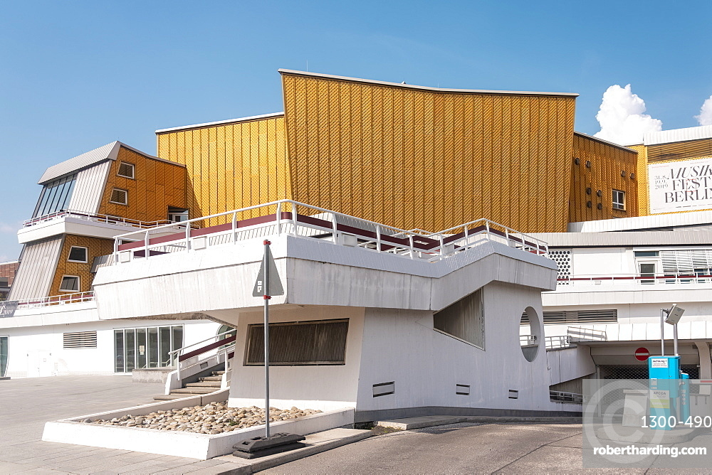 Berliner Philharmonie Concert Hall by Potsdamer Platz square, Berlin, Germany, Europe
