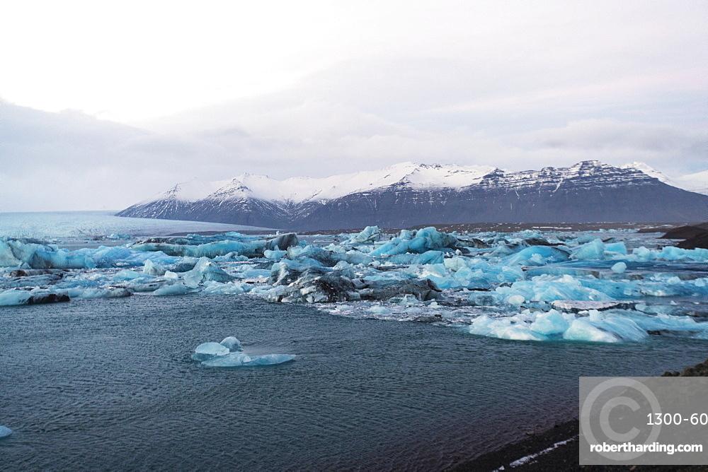 Jokulsarlon Iceberg Lagoon, Iceland, Polar Regions