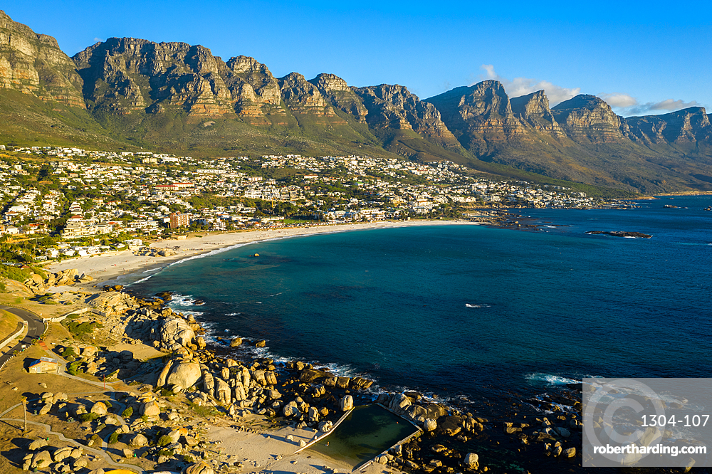 Clifton Beach, Cape Town, at sunset, South Africa, Africa