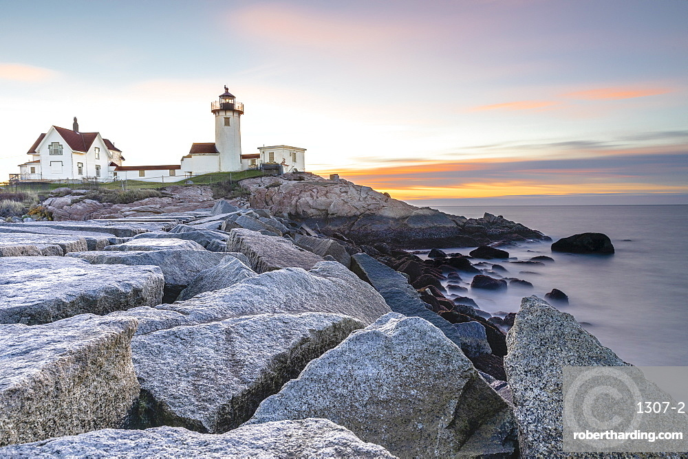 Easter Harbor Lighthouse, Gloucester, Massachusetts, New England, United States of America, North America
