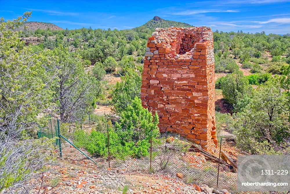 Historic Puntenney Kiln in Prescott National Forest Arizona. One of few relics left of the ghost towns of Puntenney and Cedar.