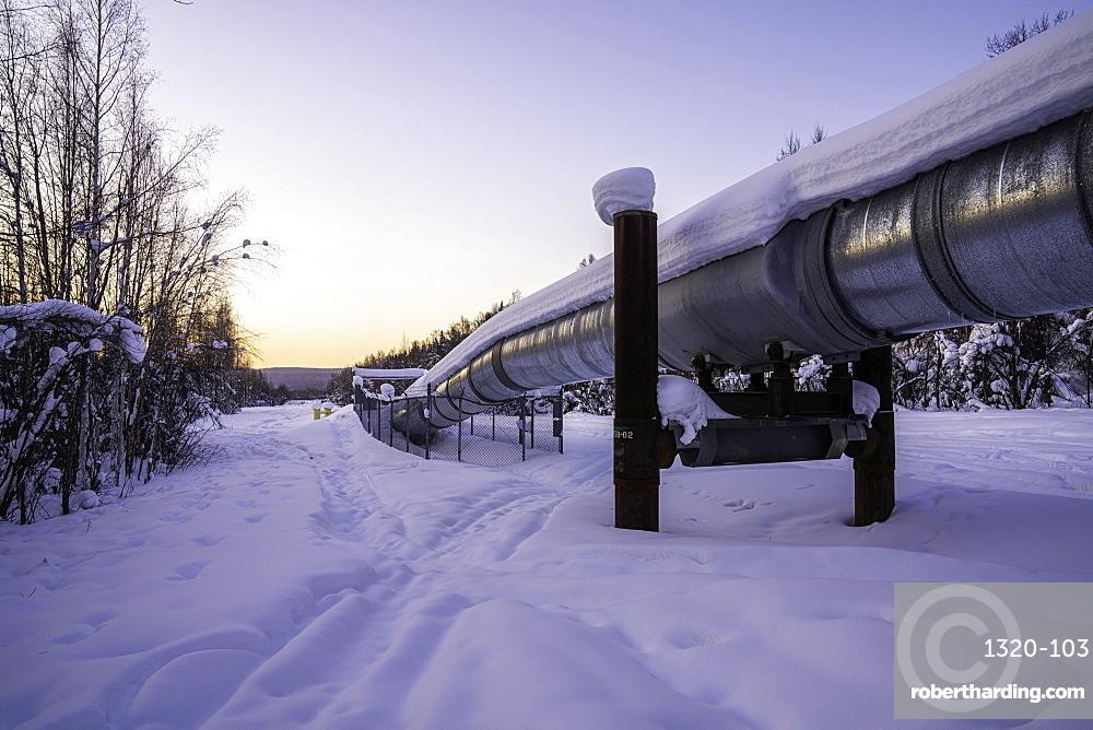 Trans-Alaska Pipeline System, Fairbanks, Alaska, United States of America, North America