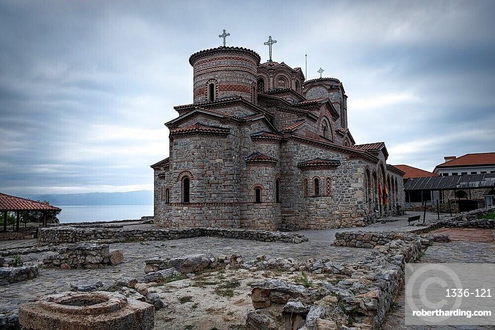 Byzantine Church of Saints Clement and Panteleimon, UNESCO World Heritage Site, Ohrid, North Macedonia, Europe