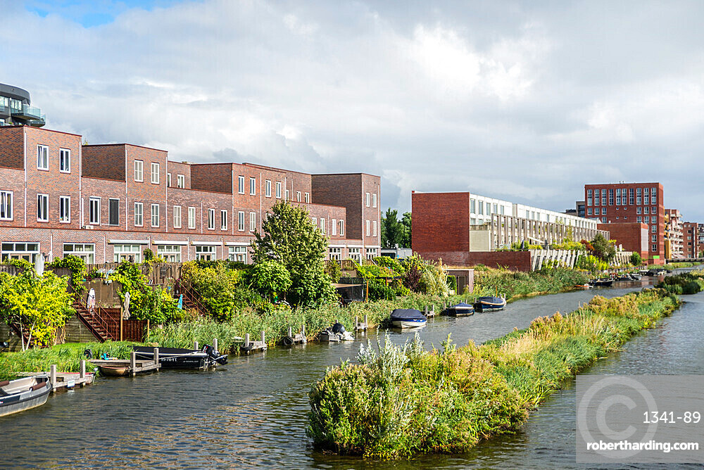 Ijburg, Amsterdam, North Holland, Netherlands, Europe