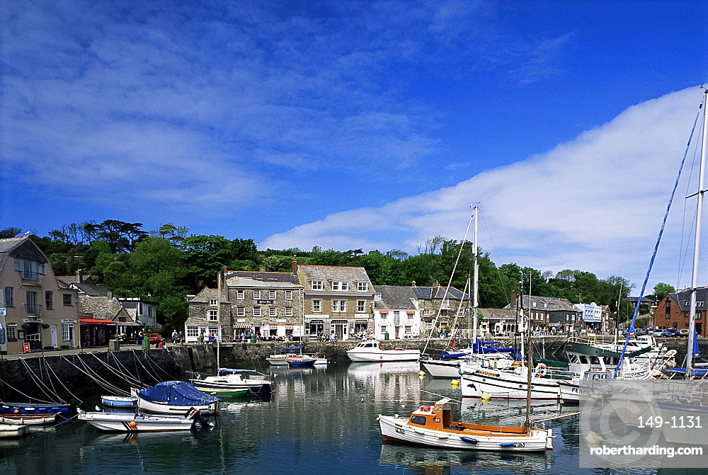 The harbour, Padstow, Cornwall, England, United Kingdom, Europe