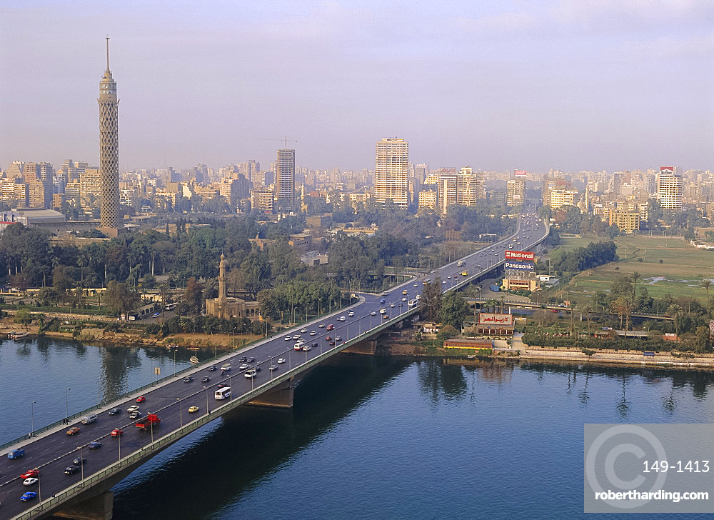 6th October Bridge, Cairo, Egypt