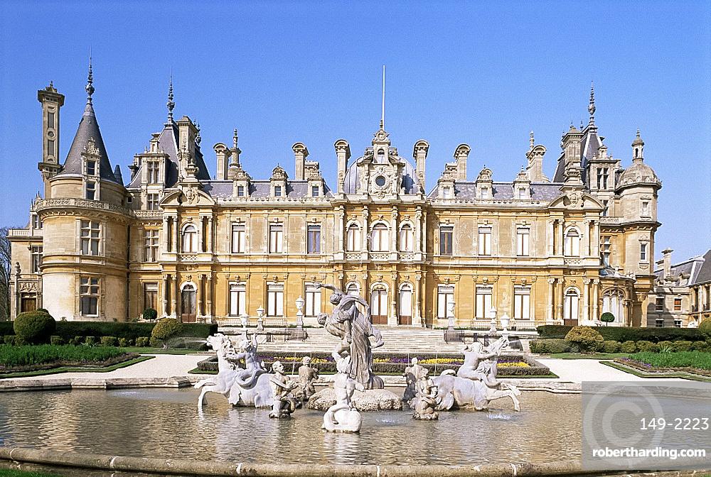 Waddesdon Manor, Buckinghamshire, England, United Kingdom, Europe