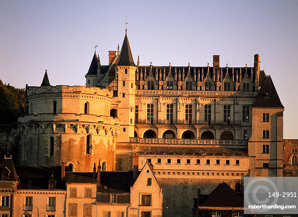Chateau, Amboise, Centre, France, Europe