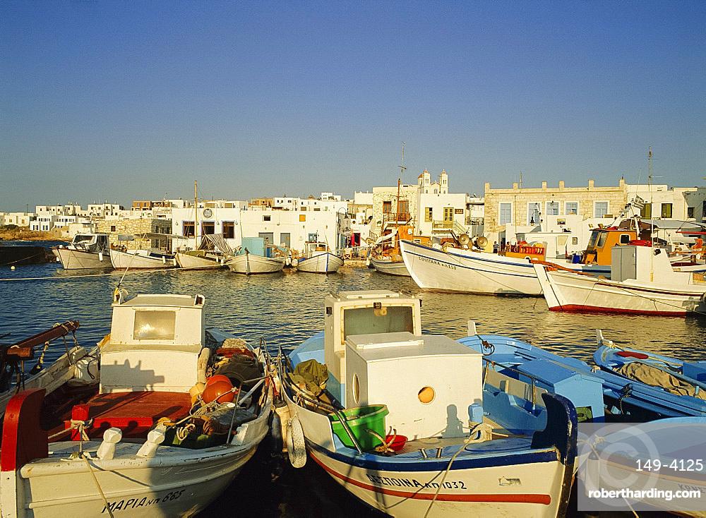 Naousa, Paros, Cyclades Islands, Greece, Europe