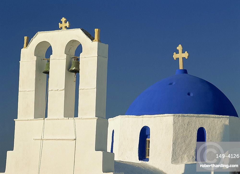 Church, Naousa, Paros, Cyclades, Greek Islands, Greece, Europe