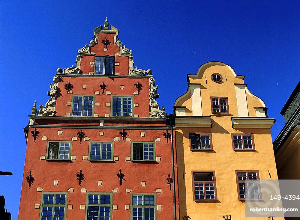 Stortorget, old town square, Gamla Stan, Stockholm, Sweden, Scandinavia