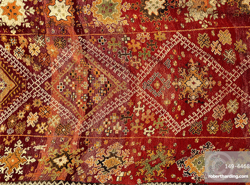 Carpet for sale, Fez, Morocco, North Africa, Africa