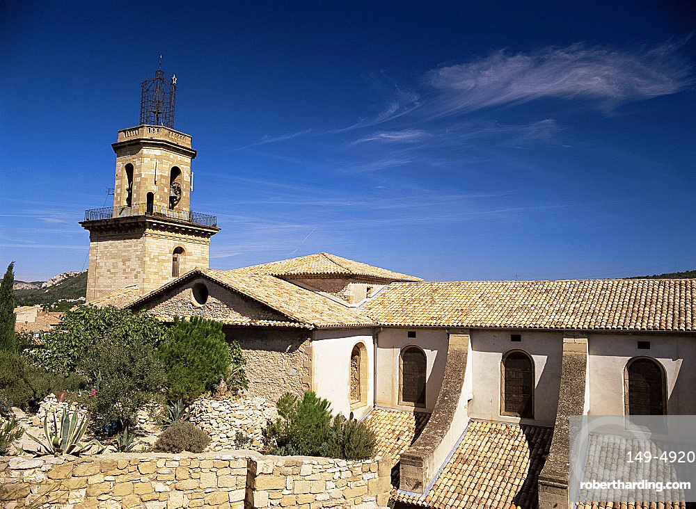 Chapel St. Veredene, Eyguieres, Bouches-du-Rhone, Provence, France, Europe