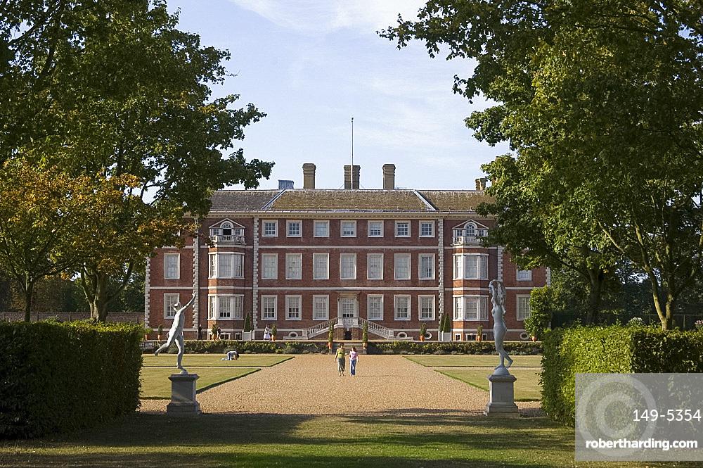 Ham House, a National Trust property, Ham, Richmond-upon-Thames, Surrey, England, United Kingdom, Europe