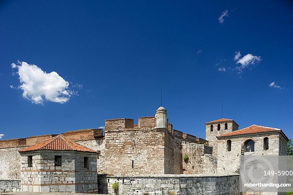 The Vidin Fortress on the banks of the Danube River in Vidin, Bulgaria, Europe