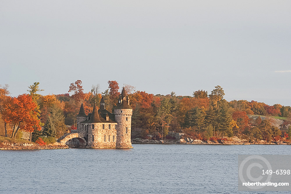The Powerhouse at Boldt Castle on the St. Lawrence River, New York State, United States of America, North America