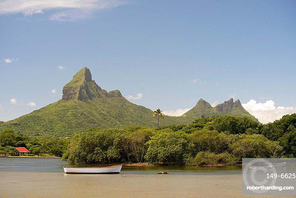 The Tourelle de Tamarin near Tamarin on the west coast of Mauritius, Indian Ocean, Africa