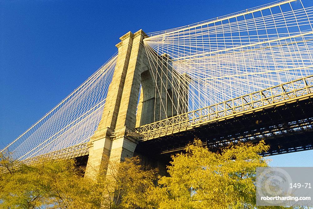 The Brooklyn Bridge, New York City, United States of America, North America