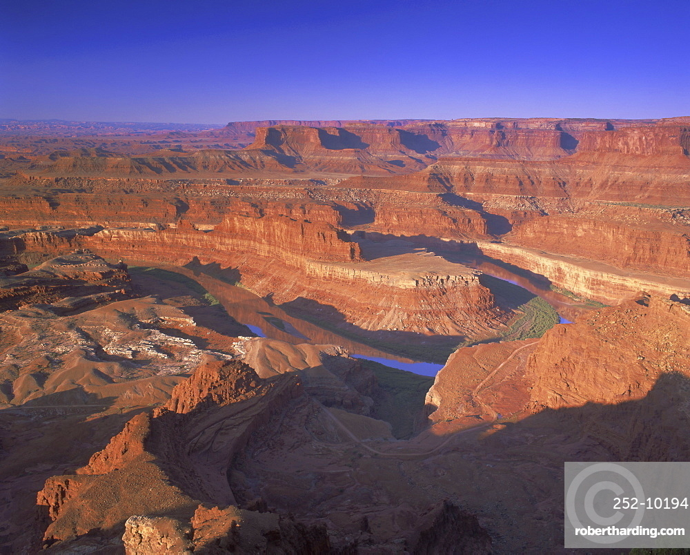 Dead Horse Point overlook, Canyonlands National Park, Utah, USA, North America