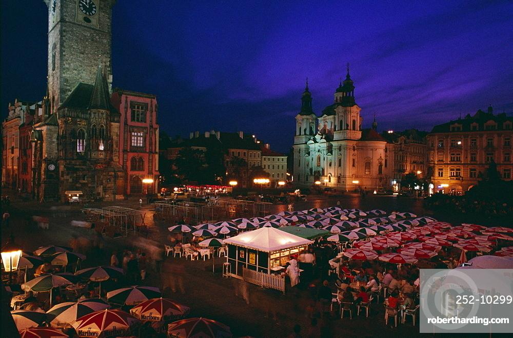 Old Town Hall, Stare Mesto Square, Prague, Czech Republic, Europe
