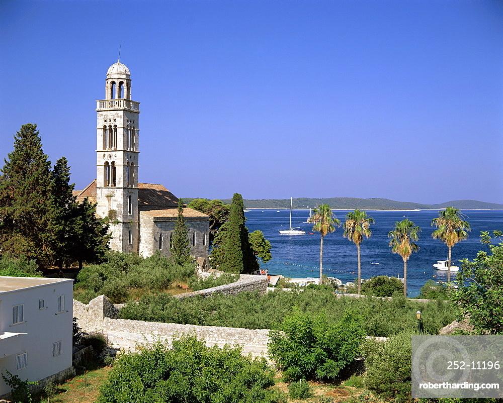 Franciscan monastery, Hvar Town, Hvar Island, Dalmatia, Dalmatian Coast, Croatia, Europe