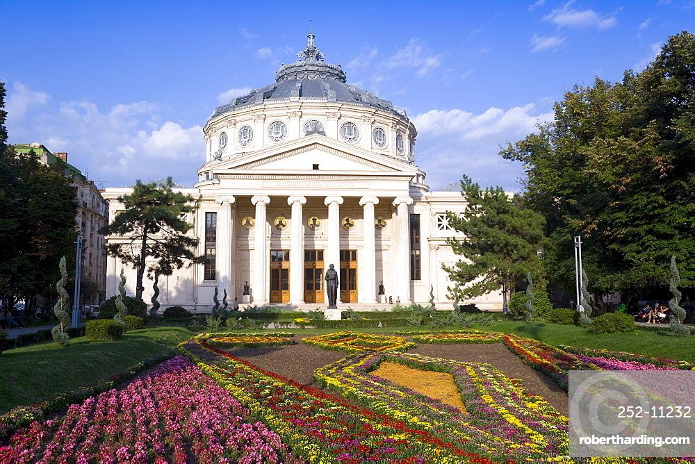 Piata George Enescu, Romanian Athenaeum Concert Hall, Bucharest, Romania, Europe