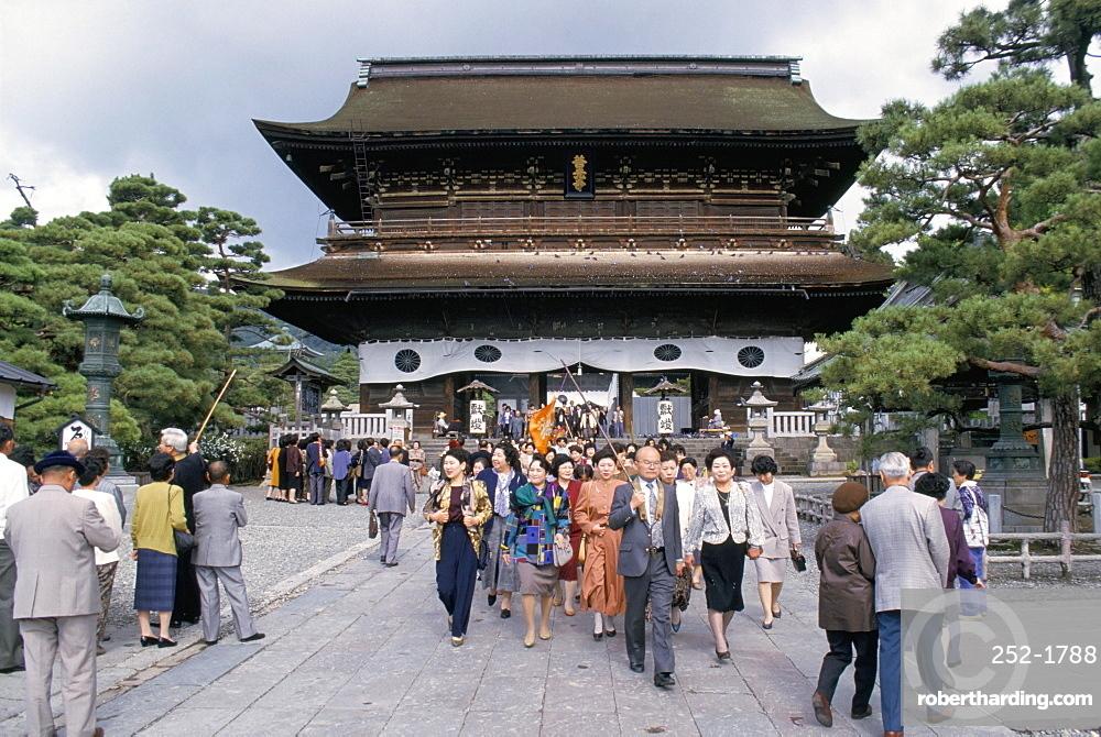 Zenko-ji temple, Nagano, Honshu, Japan, Asia