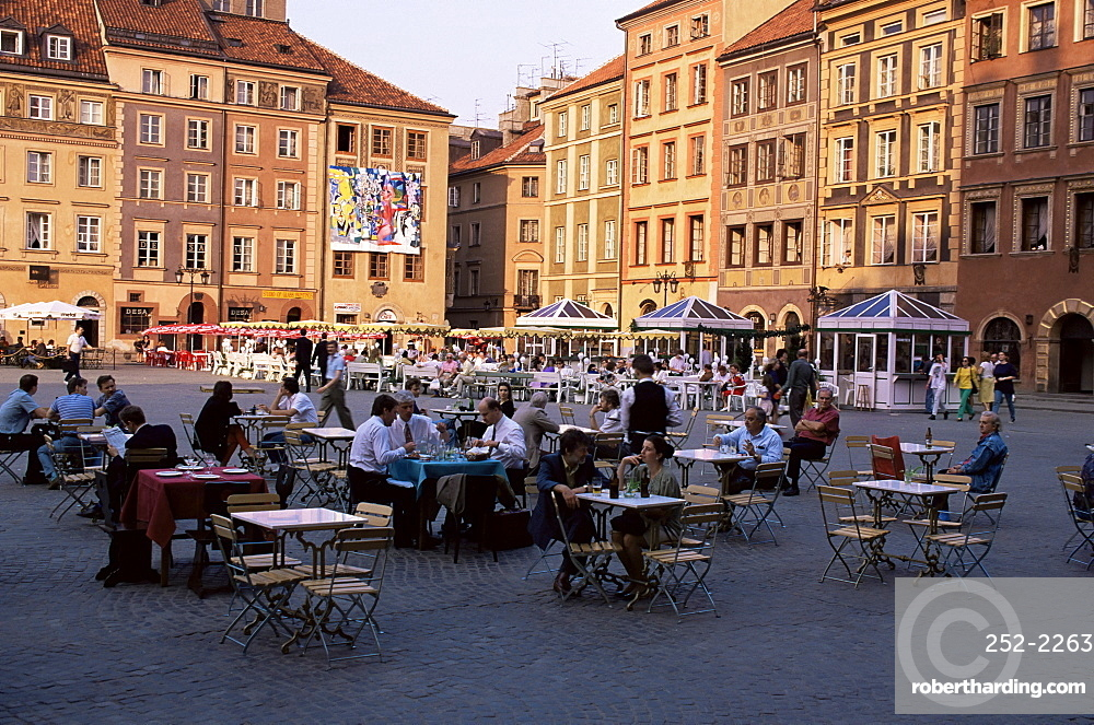 Old Town Square, Warsaw, Poland, Europe