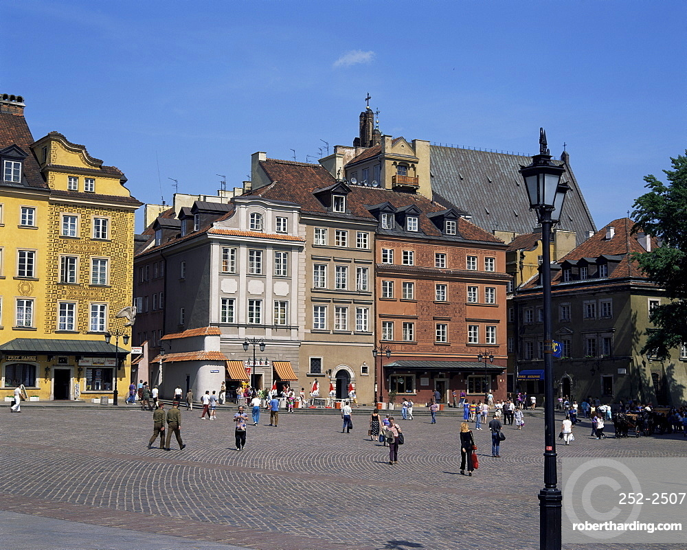 Old Town, Warsaw, Poland, Europe