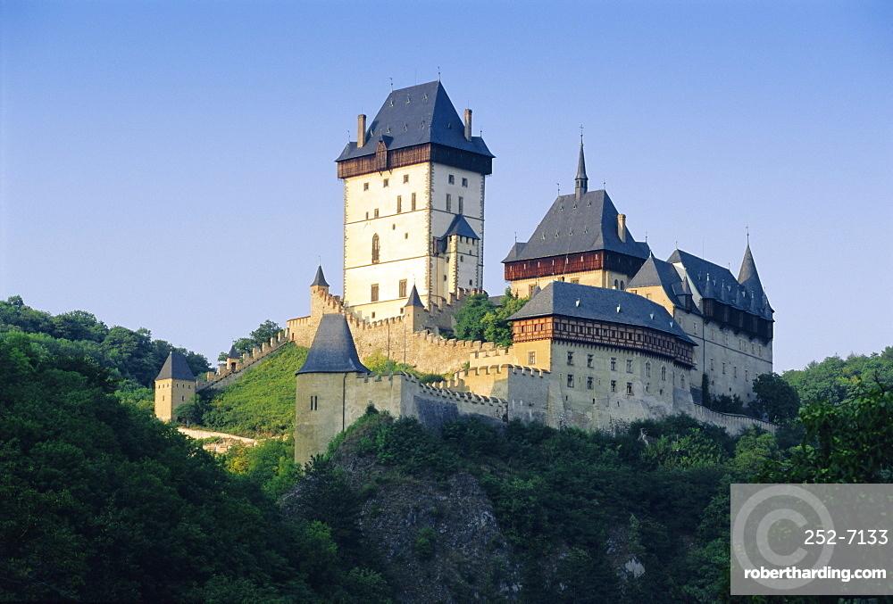 Karlstejn Castle, Central Bohemia, Czech Republic, Europe
