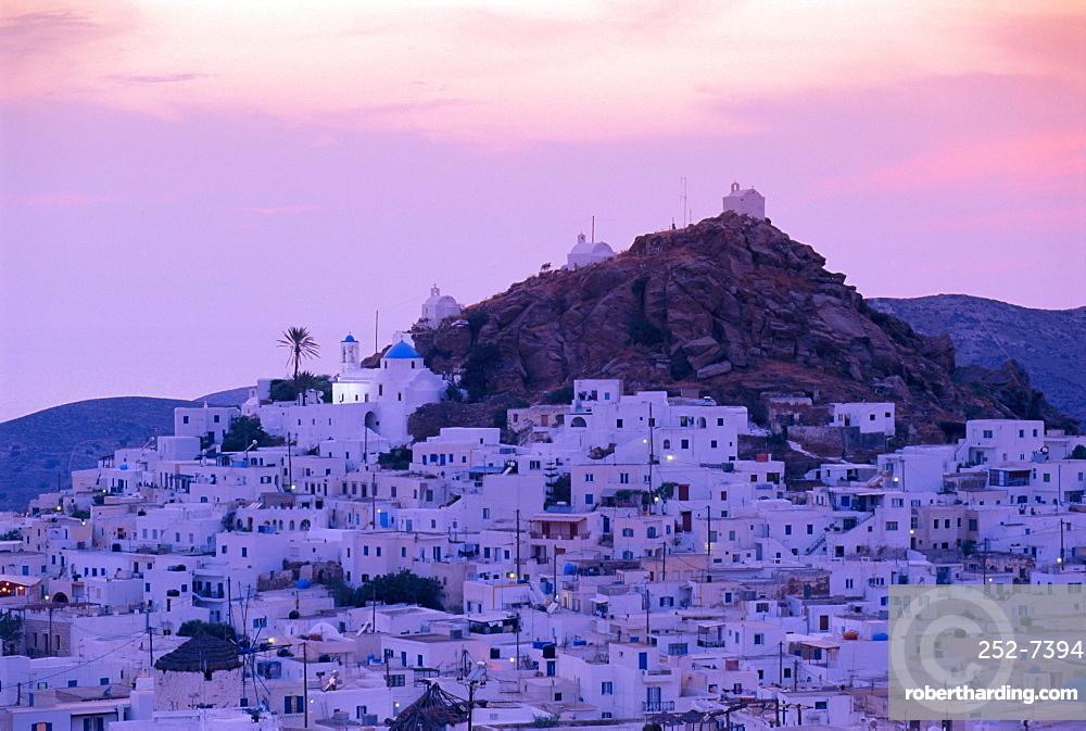 Hora (main town) Kos, Cyclades Islands, Greece, Europe