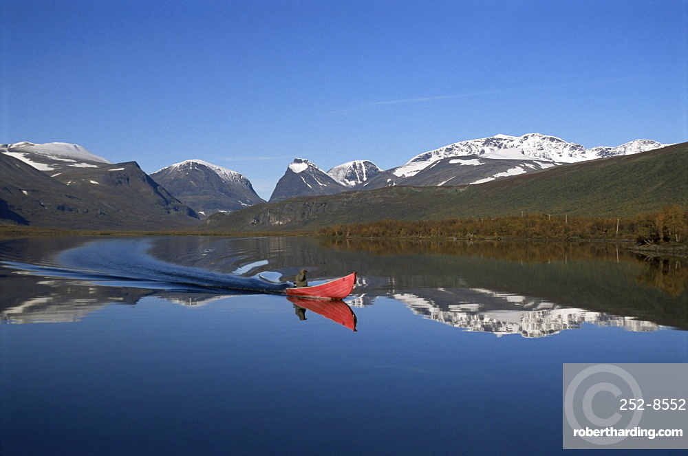 Mount Kebnekaise, Sweden's highest, Laponia, UNESCO World Heritage Site, Lappland, Sweden, Scandinavia, Europe