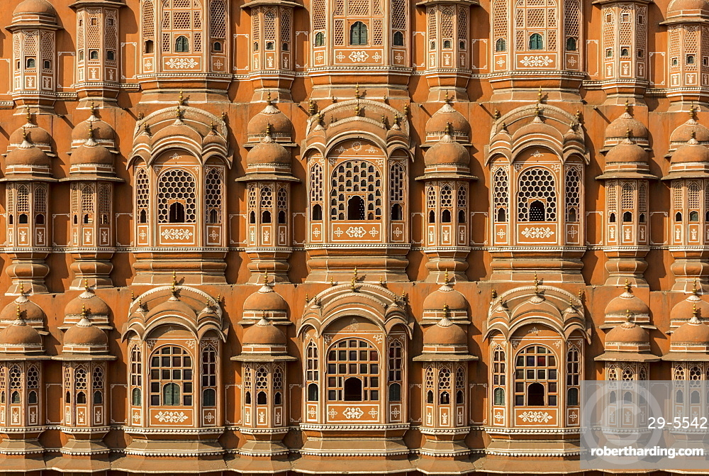 Hawa Mahal, Jaipur, Rajasthan, India, Asia