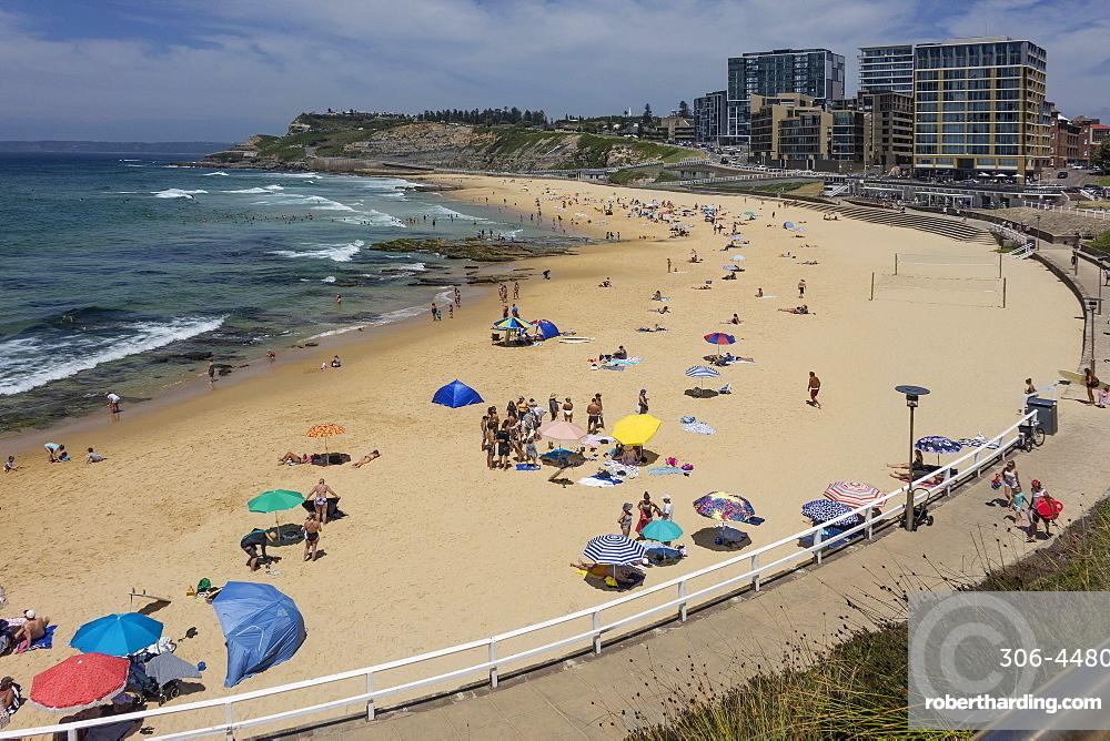 Newcastle beach, Newcastle, New South Wales, Australia, Pacific