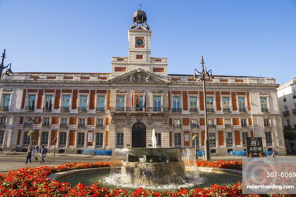 Puerto del Sol, Madrid, Spain, Europe