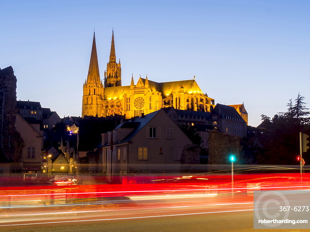 Chartres Cathedral, UNESCO World Heritage Site, Chartres, Eure-et-Loir, France, Europe