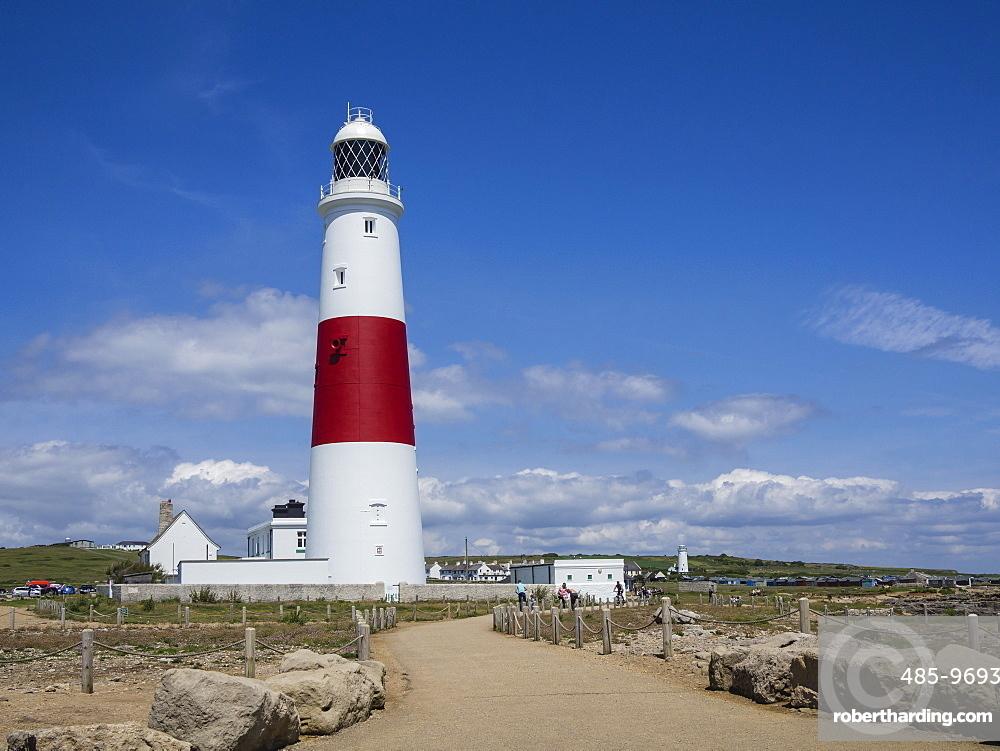 Portland Bill Lighthouse, Isle of Portland, Jurassic Coast, UNESCO World Heritage Site, Dorset, England, United Kingdom, Europe