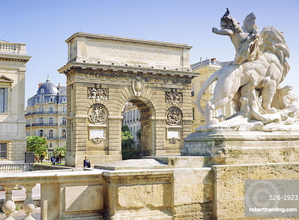 Ard de Triomphe, Montpellier, Languedoc, France, Europe