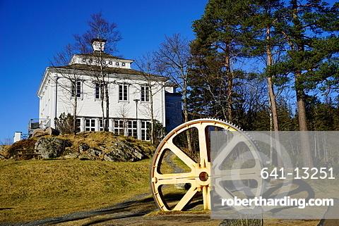 Restaurant on Mount Floyen, Bergen, Hordaland, Norway, Scandinavia, Europe
