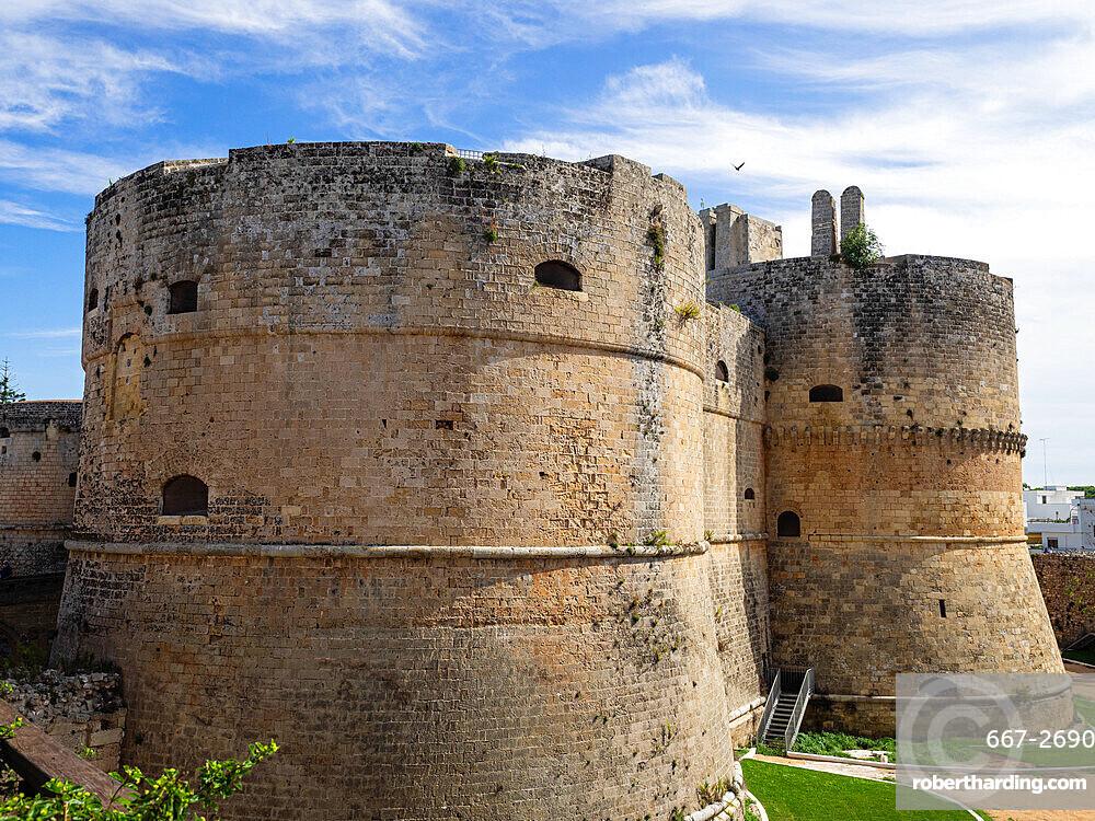 Aragonese Castle, Otranto, Apulia, Puglia, Italy, Europe