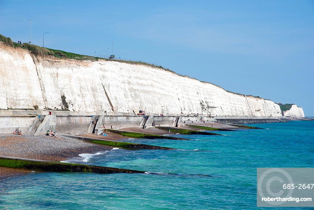 Undercliff Beach, Brighton, Sussex, England, United Kingdom, Europe