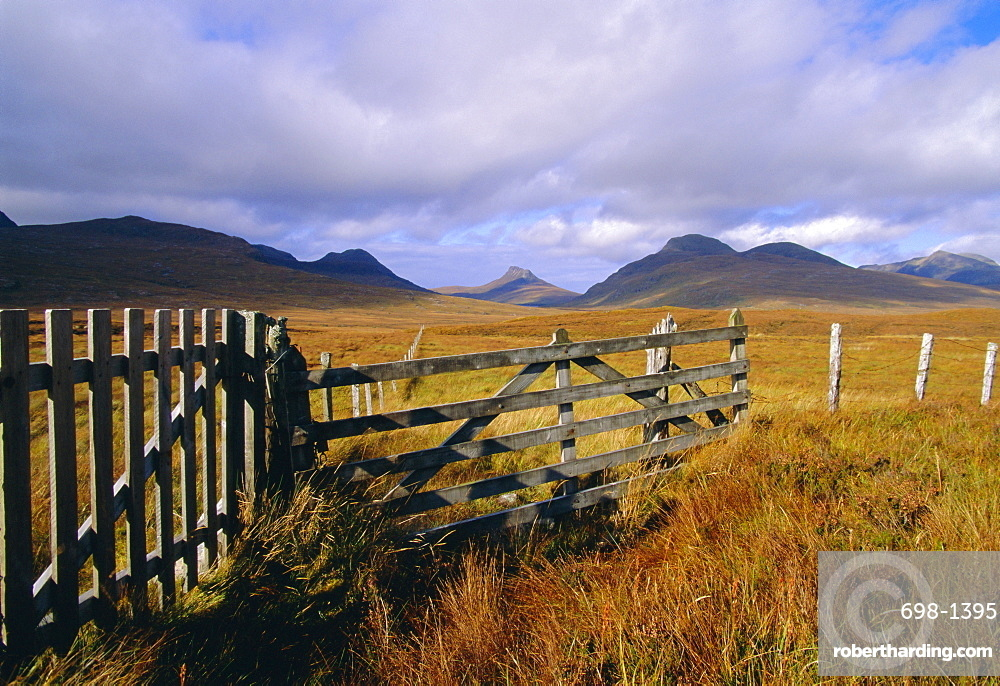 Inverpolly National Nature Reserve, Coigach, Wester Ross, Highlands Region, Scotland, UK, Europe