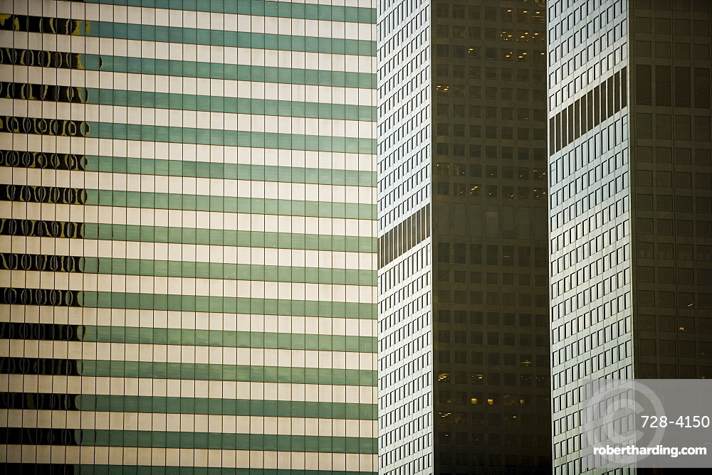 Office buildings, Los Angeles, California, United States of America, North America