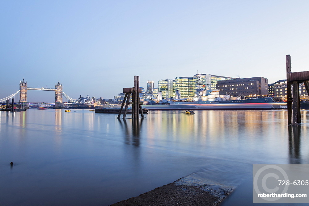 River Thames in the City of London, London, England, United Kingdom, Europe