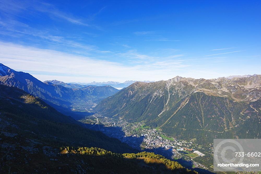 Chamonix Valley, Rhone Alps, Haute Savoie, France, Europe
