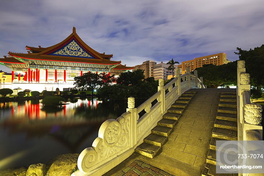 National Concert Hall, Chiang Kaishek Memorial Grounds, Taipei, Taiwan, Asia